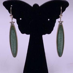 Carolyn Pollock Silver/genuine gemstone earrings